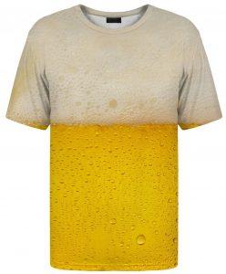 Bier auf dem Tshirt